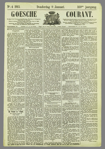 Goessche Courant 1913-01-09