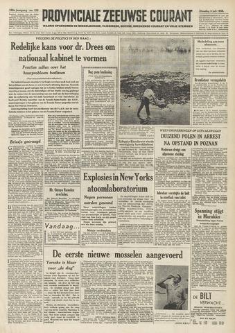 Provinciale Zeeuwse Courant 1956-07-03