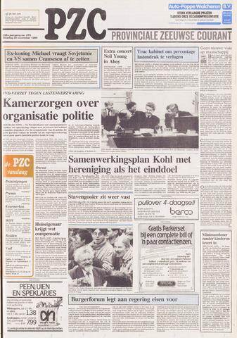 Provinciale Zeeuwse Courant 1989-11-28