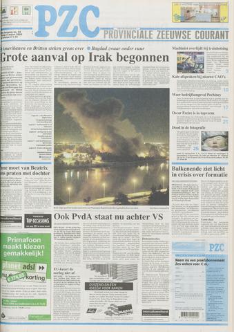 Provinciale Zeeuwse Courant 2003-03-21