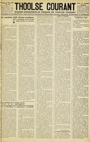 Ierseksche en Thoolsche Courant 1947-08-22