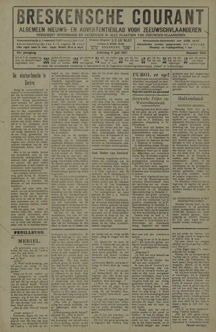 Breskensche Courant 1927-07-09