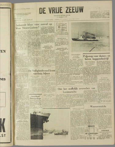 de Vrije Zeeuw 1961-02-20
