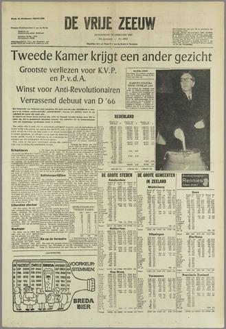 de Vrije Zeeuw 1967-02-16