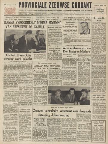 Provinciale Zeeuwse Courant 1963-02-01