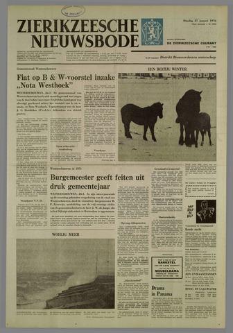 Zierikzeesche Nieuwsbode 1976-01-27