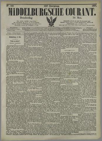 Middelburgsche Courant 1891-05-14