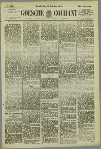 Goessche Courant 1919-10-16