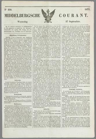Middelburgsche Courant 1871-09-27