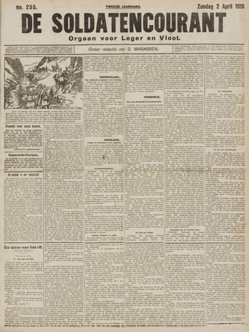 De Soldatencourant. Orgaan voor Leger en Vloot 1916-04-02
