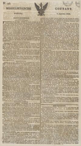 Middelburgsche Courant 1829-08-06