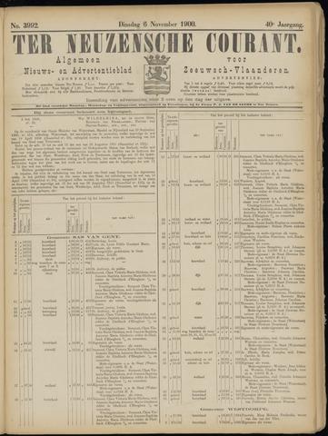 Ter Neuzensche Courant. Algemeen Nieuws- en Advertentieblad voor Zeeuwsch-Vlaanderen / Neuzensche Courant ... (idem) / (Algemeen) nieuws en advertentieblad voor Zeeuwsch-Vlaanderen 1900-11-06