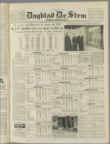 de Stem 1953-05-28