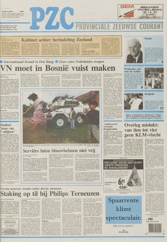 Provinciale Zeeuwse Courant 1995-05-30