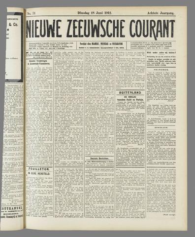 Nieuwe Zeeuwsche Courant 1912-06-18