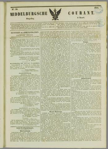 Middelburgsche Courant 1847-03-09
