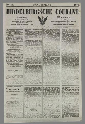 Middelburgsche Courant 1877-01-22