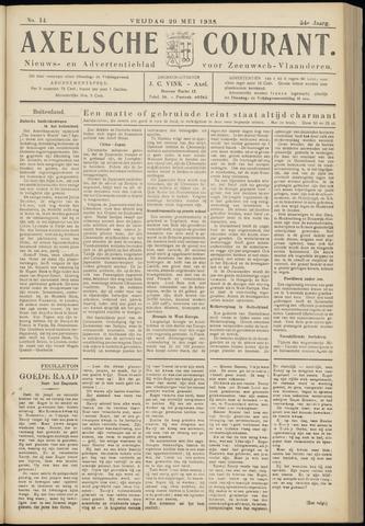 Axelsche Courant 1938-05-20