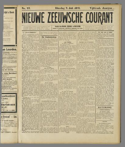 Nieuwe Zeeuwsche Courant 1919-07-08