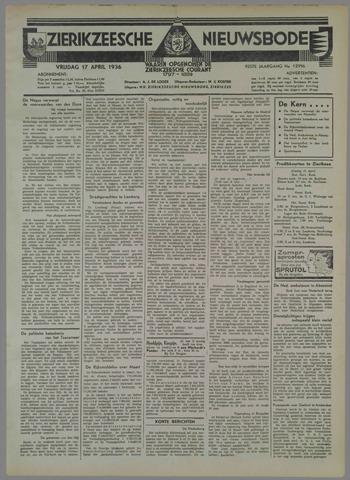 Zierikzeesche Nieuwsbode 1936-04-17