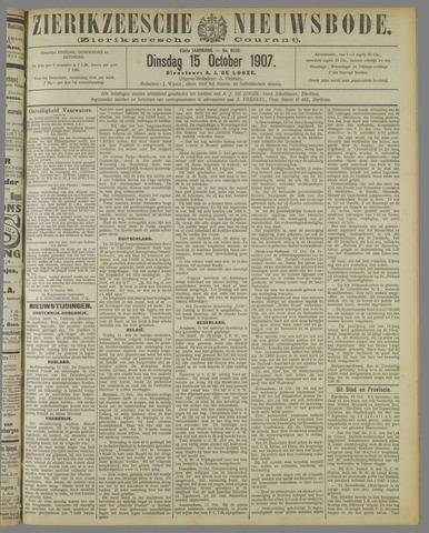 Zierikzeesche Nieuwsbode 1907-10-15
