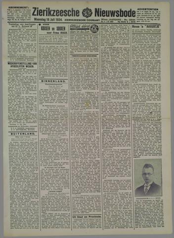 Zierikzeesche Nieuwsbode 1934-07-16