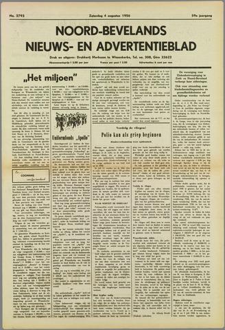 Noord-Bevelands Nieuws- en advertentieblad 1956-08-04