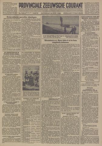 Provinciale Zeeuwse Courant 1942-11-14