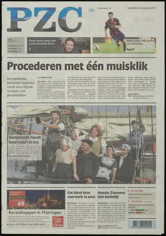 Provinciale Zeeuwse Courant 2014-10-20