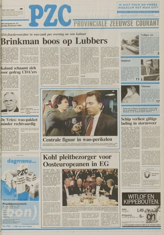 Provinciale Zeeuwse Courant 1993-01-26