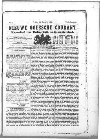 Nieuwe Goessche Courant 1870-01-21