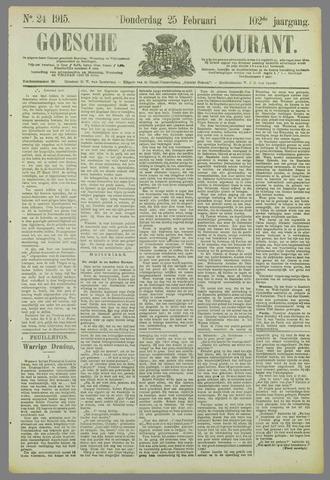Goessche Courant 1915-02-25