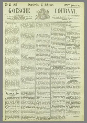 Goessche Courant 1913-02-20