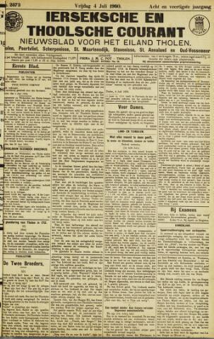 Ierseksche en Thoolsche Courant 1930-07-04