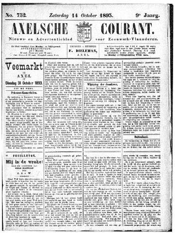 Axelsche Courant 1893-10-14