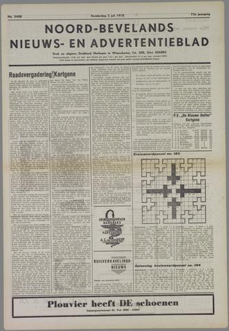 Noord-Bevelands Nieuws- en advertentieblad 1970-07-02