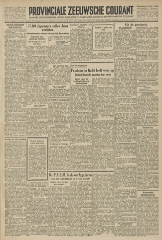 Provinciale Zeeuwse Courant 1946-01-09