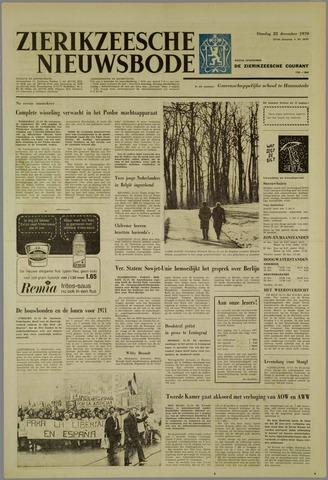 Zierikzeesche Nieuwsbode 1970-12-22