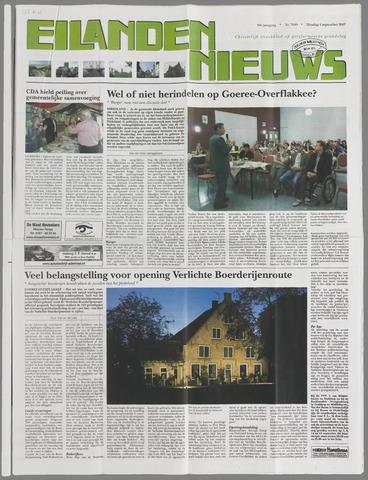 Eilanden-nieuws. Christelijk streekblad op gereformeerde grondslag 2007-09-04