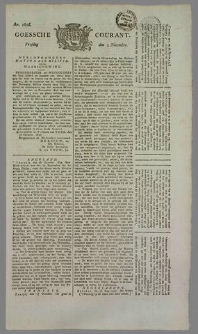Goessche Courant 1826-11-03