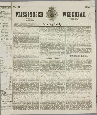Vlissings Weekblad 1863-07-11
