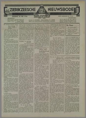 Zierikzeesche Nieuwsbode 1936-05-26
