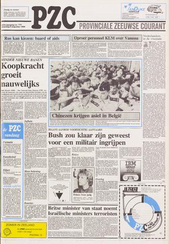 Provinciale Zeeuwse Courant 1989-08-05