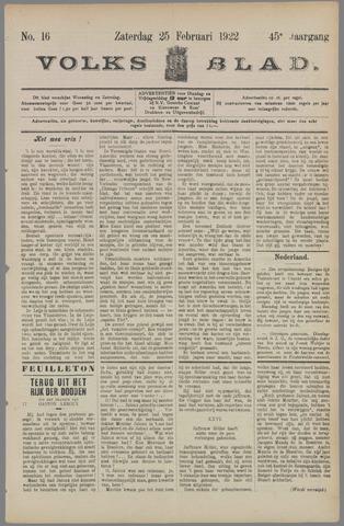 Volksblad 1922-02-25