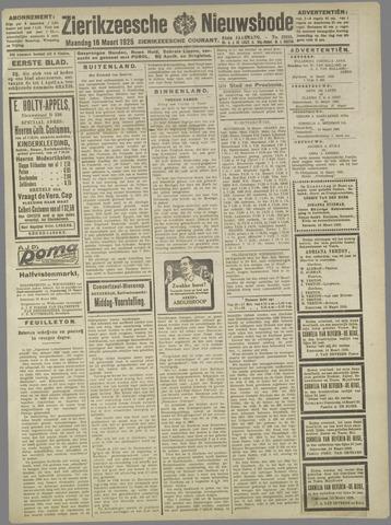 Zierikzeesche Nieuwsbode 1925-03-16