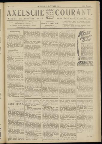 Axelsche Courant 1941-01-07