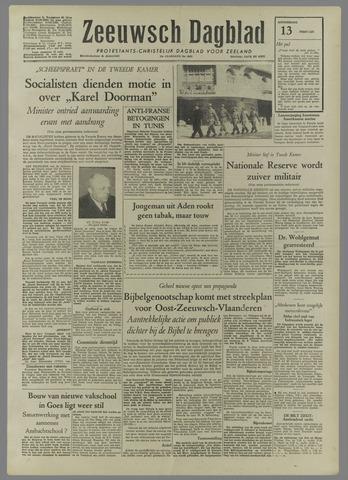 Zeeuwsch Dagblad 1958-02-13