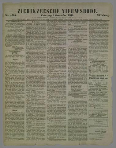 Zierikzeesche Nieuwsbode 1882-12-09
