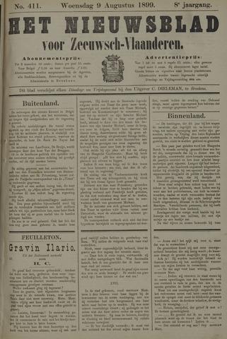 Nieuwsblad voor Zeeuwsch-Vlaanderen 1899-08-09