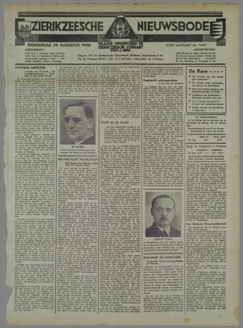 Zierikzeesche Nieuwsbode 1940-08-29